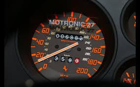 ferrari speedometer top speed 1990 ferrari 348 ts serious wheels