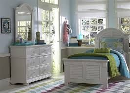 summer house 4 youth bedroom set in oyster white finish by
