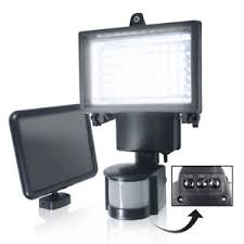solar powered sensor security light bright led solar powered sensor security flood light motion outdoor