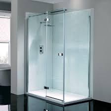 Shower Hinged Door April Prestige2 Frameless Hinged Shower Door With Optional Side Panel