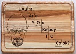 Wedding Gifts Engraved Breaking Bad Engraved Cutting Board Personalized Engraved