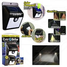 everbright solar light reviews ever brite solar powered motion activated led solar light