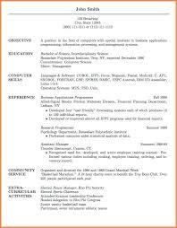 Academic Resume Template Grad Resume Template Sample Resume For Graduate