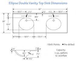 Standard Bathroom Sink Size Fixture Dimensions Sizes Of Counter Bathroom Fixture Sizes