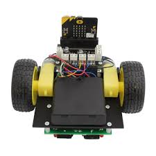 Seeking Robot Date Line Following Buggy For The Micro Bit