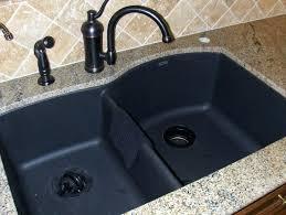 black granite composite sink kitchen sinks undermount granite composite kitchen sinks blanco