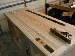birch bench 11 flattening top leg vise install t track and