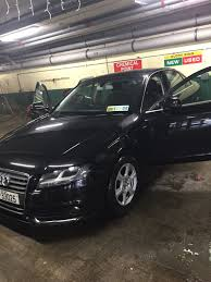 used audi a4 a4 2010 diesel 2 0 black for sale in dublin