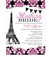 eiffel tower invitations ooh la la shower bridal shower bridal
