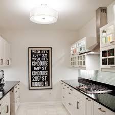 Black Galley Kitchen - white and black galley kitchen transitional kitchen jeff