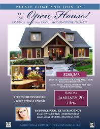 Instant Home Design Download by Real Estate Open House Flyer Template Microsoft Publisher