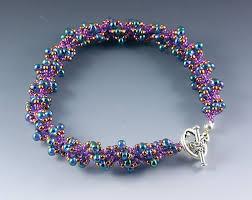 free beaded bracelet pattern images Free spiral rope bracelet tutorial jpg