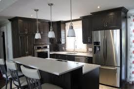 cuisine brun armoires de cuisine en bois d érable cuisines despro