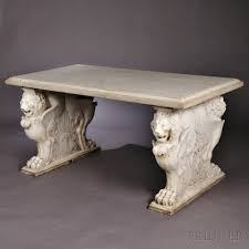marble lions for sale carrara marble lion garden table sale number 2835b lot