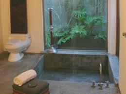 connect with nature in your zen bathroom hgtv zen bathroom