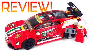ferrari speed chions new speed chions ferrari 75908 review 458 italia gt2 youtube