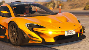 mclaren p1 mclaren p1 gtr road legal add on replace gta5 mods com