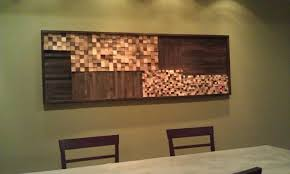 how to make wood mosaic wall dave and davis