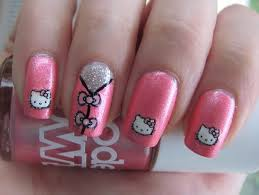 33 best hello kitty fashion nails images on pinterest hello