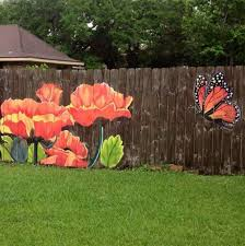paint a picture on the fence privacy fence hub pinterest