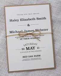 wedding invite ideas simple wedding invites isura ink