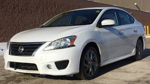 sentra nissan white 2013 nissan sentra sv sr package navigation heated seats