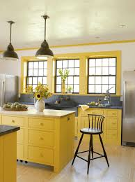 gray kitchen cabinets yellow walls 11 yellow kitchen ideas that will brighten your home