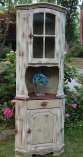 corner kitchen hutch furniture antique kitchen cupboard storage cabinet armoire indian blue farm