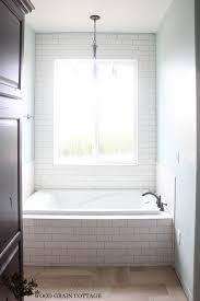 Regrout Bathroom Tile Youtube by New Master Bathroom Tile The Wood Grain Cottage