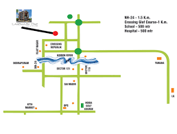 Noida Metro Route Map by Landmark One Invest Mango At Greater Noida West