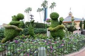 2014 epcot international flower and garden festival opening day