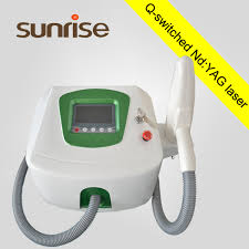 beijing sunrise vertical multi pulse nd yag laser tattoo removal