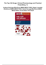 the top 100 drugs clinical pharmacology and practical prescribing 1e u2026