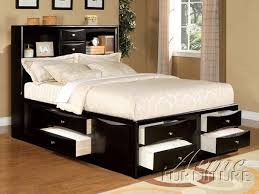lovable twin bed with storage and headboard ana white twin storage