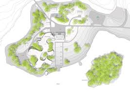 architectural site plan gallery of entry for the serlachius museum gösta extension