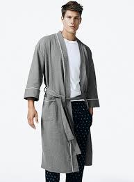 robe de chambre coton homme magasinez les robes de chambre pour homme simons