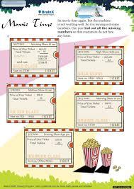 movie time math worksheet for grade 5 free u0026 printable worksheets