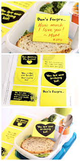 lunchbox love notes dabbles u0026 babbles