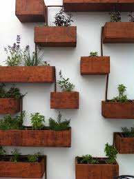 winsome inspiration wall mount planter home designing