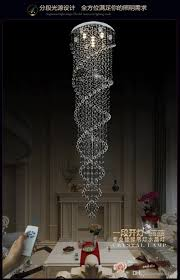 Circular Crystal Chandelier Discount Crystal Chandelier Penthouse Floor Villa Living Room
