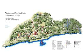 jekyll island map tsw jekyll island historic district pilot master plan