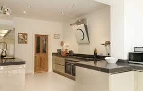 cubanite metallic grey handleless kitchen with 80mm quartz