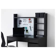 Ikea Black Computer Desk Micke Add On Unit High Black Brown Ikea