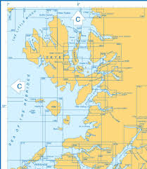 Shetland Islands Map Admiralty Charts Scotland Firth Of Clyde To Skye Orkney