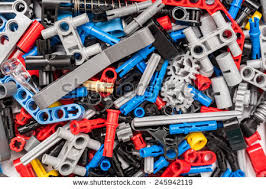 technic pieces bucharest romania january 20 2015 stock photo 245942119