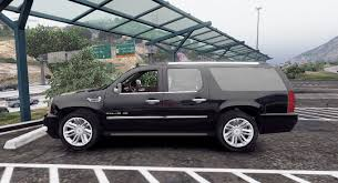 cadillac escalade 2012 cadillac escalade esv gmt900 add on replace animated