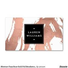 Makeup Business Cards Designs Makeup Artist Cut Out Rose Gold Typography Marble Business Card