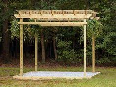 How To Build A Simple Pergola by How To Build A Wishing Well From Bricks Gardens Yards And Backyard