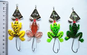2018 hengjia sale spinner spoon frog fishing lure lures soft