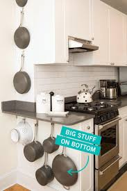 how can i organize my kitchen without cabinets storage tricks for a tiny kitchen small kitchen organization